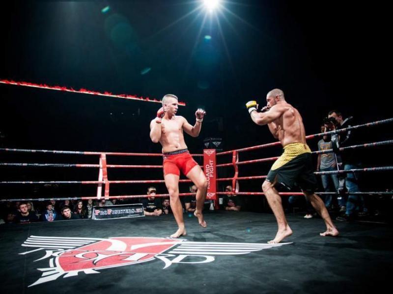 Trénink MMA