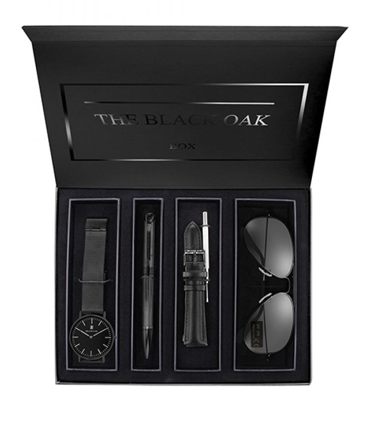 BLACK OAK Luxusní dárková sada